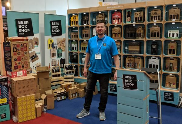 MD Simon Hulse in attendance at BeerX 2019