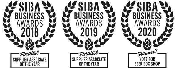 Vote for Beer Box Shop in this years SIBA Business Awards