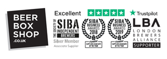 Beer Box Shop rated 5* on Trustpilot