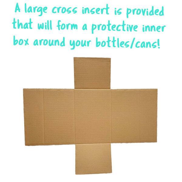 Super Shipper Large Cross Insert