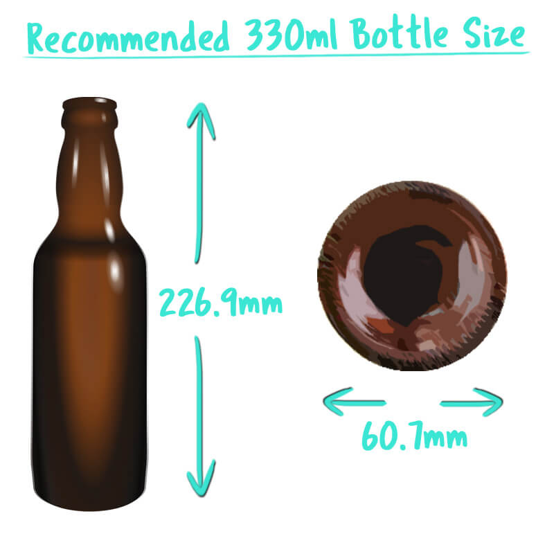 330ml Beer Bottle Trade Box Size